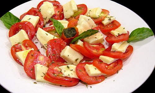 amanida tomaquet i tofu