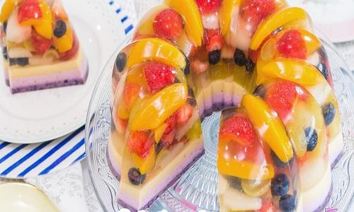 gelatina fruites