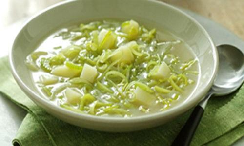 sopa porro