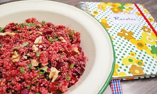 amanida quinoa i remolatxa