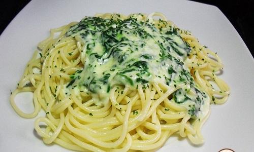 gratinat espinacs i formatge